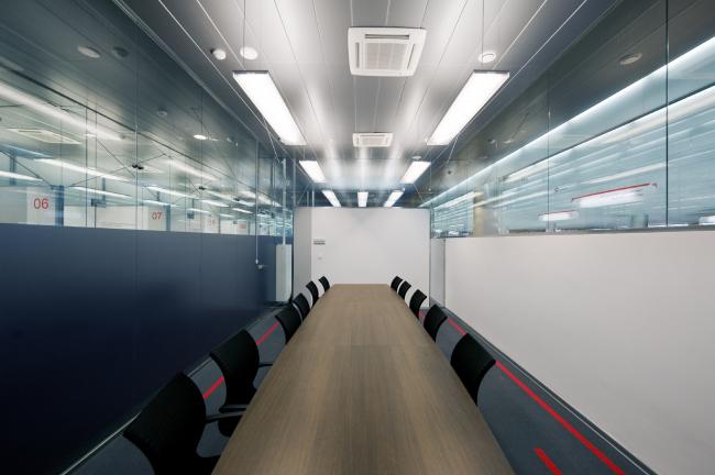 Зона кабинетов. Офис компании «Аэроэкспресс» © Arch Group