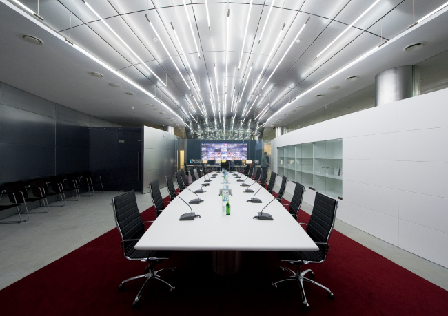 Конференц-зал. Офис компании «Аэроэкспресс» © Arch Group
