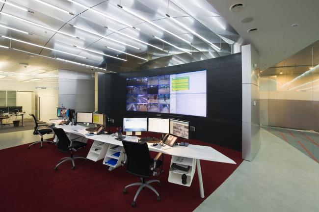 Единый диспетчерский центр. Офис компании «Аэроэкспресс» © Arch Group