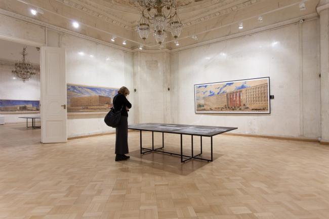 Вид экспозиции © Государственный музей архитектуры А.В. Щусева