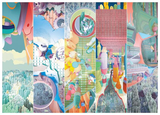 Финалист в категории «Цифровые рисунки или смешанная техника. Студенты». Kyle Branchesi. Иллюстрация: krobarch.com