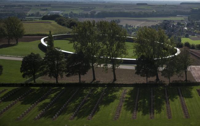 Международный мемориал Нотр-Дам-де-Лорретт. Фото: Philippe Prost, architecte/AAPP © adagp2014 © Aitor ORTIZ