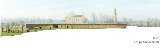 Международный мемориал Нотр-Дам-де-Лорретт © Philippe Prost, architecte/AAPP © adagp