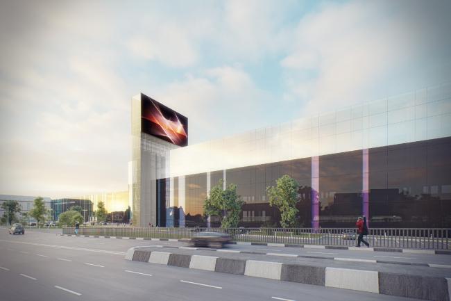Концепция редевелопмента комплекса зданий радиозавода им. А.С. Попова © Arch Group