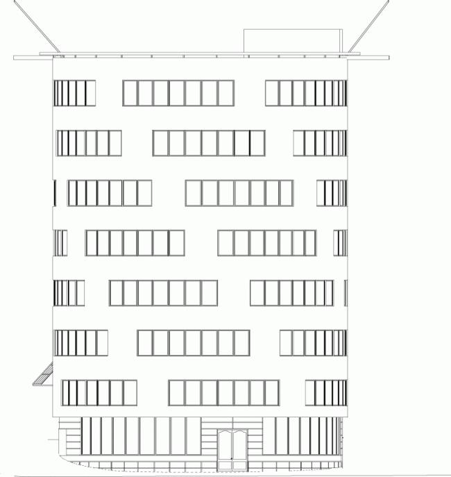 Офисное здание на Трубной улице © АБ Остоженка