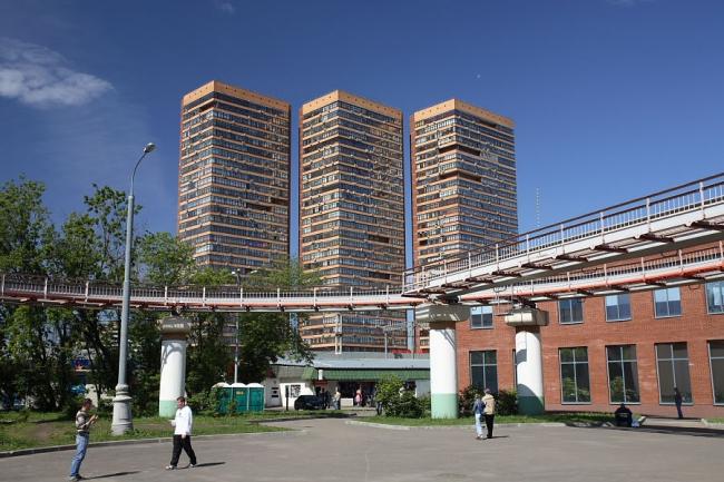 Жилой комплекс на Дмитровском шоссе © АБ Остоженка