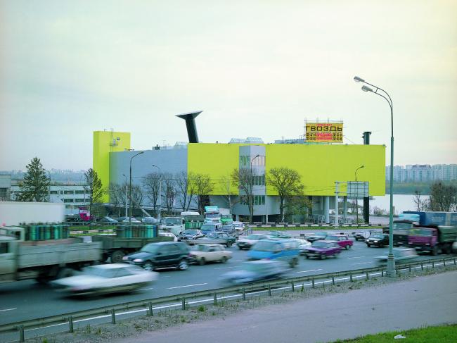 Торговый центр «ГВОЗДЬ», Волоколамское шоссе © АБ Остоженка