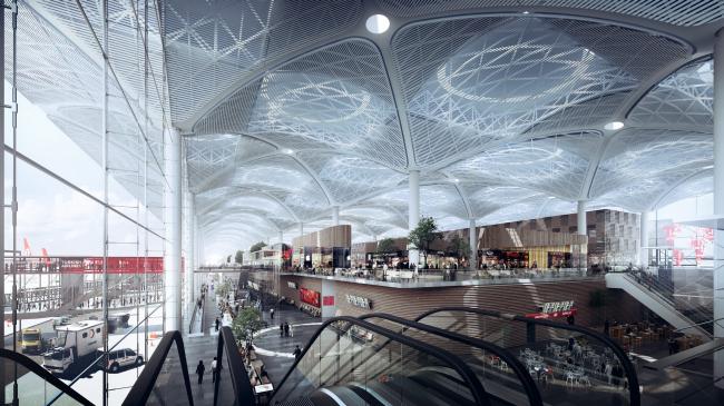 Новый аэропорт Стамбула © MIR / Grimshaw
