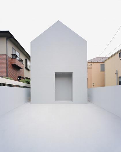 Datar – «Дом-призрак». Токио, Япония. Почетная премия