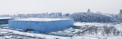 Крис Босс / PTW Architects - Национальный Комплекс водных видов спорта. Пекин, Китай. Почетная премия
