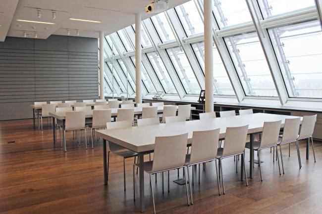 Музеи искусств Гарвардского университета – реконструкция. Учебный центр. Фото: Antoinette Hocbo