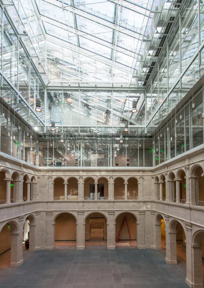 Музеи искусств Гарвардского университета – реконструкция. Фото: Peter Vanderwarker