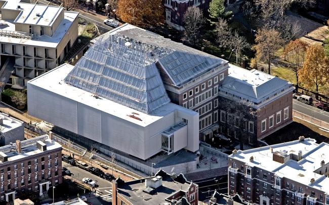 Музеи искусств Гарвардского университета – реконструкция. Фото © Aerial by lesvants.com