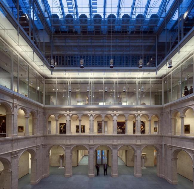 Музеи искусств Гарвардского университета – реконструкция. Фото © Michel Denancé