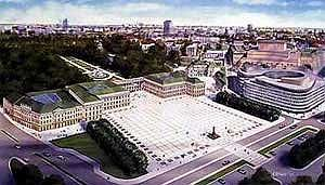 Саксонский дворец в Варшаве. Проект реконструкции