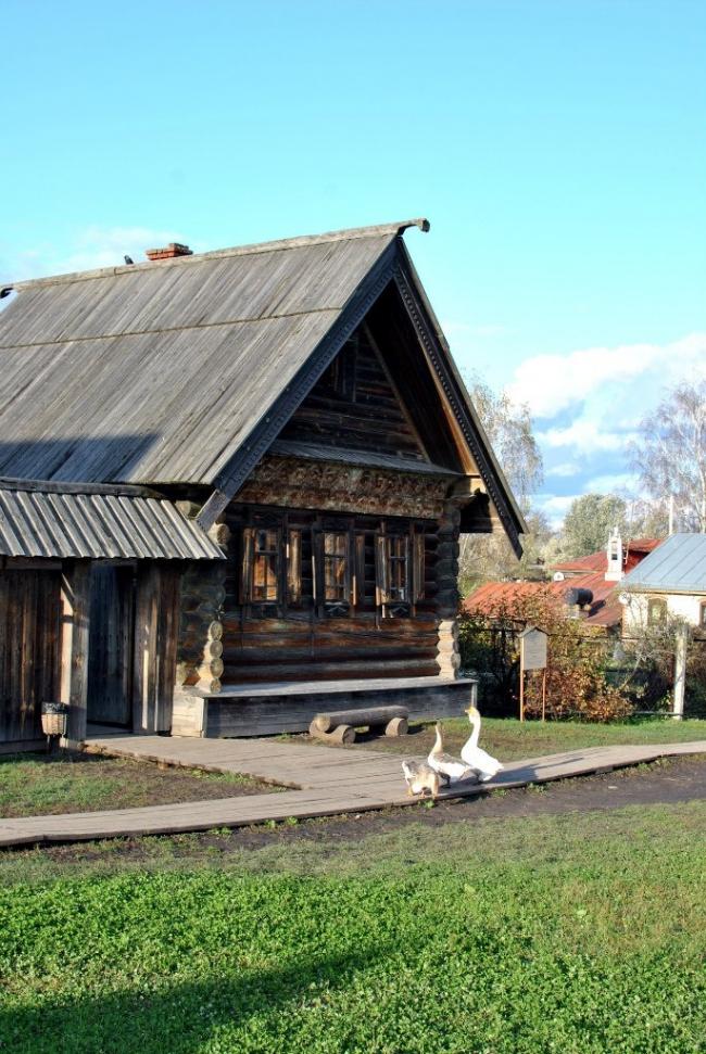 Суздаль, музей деревянного зодчества. Фотография © Илья Шевченко