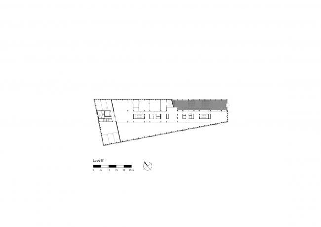 Культурный центр Rozet © Neutelings Riedijk Architects