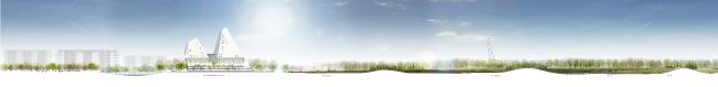 Проект «Земля Олонхо». Команда Vittorio Grassi Architetto & Partners и «ЯкутАгроПромПроект» © Vittorio Grassi Architetto & Partners