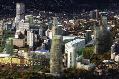 Третий Город - проект регенерации района Кройдон