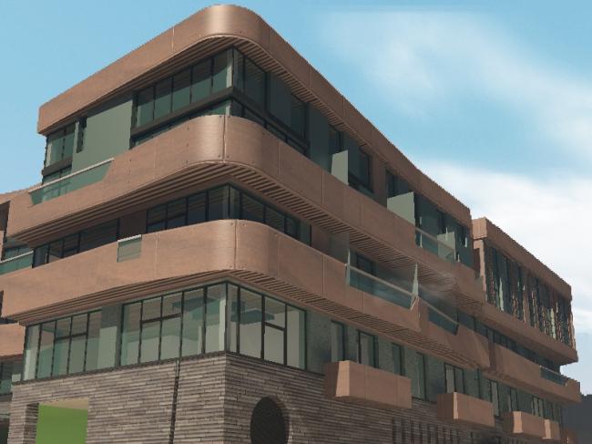 Апарт-отель «Ратуша» в поселке «Новый свет» © Архстройдизайн АСД
