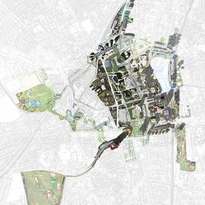 Третий Город - проект регенерации района Кройдон. План