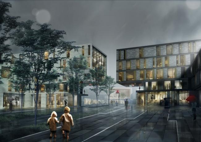Кампус Копенгагенской школы бизнеса – расширение. Изображение предоставлено C.F. Møller & Transform