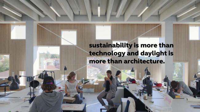 Школа архитектуры в Умео. Предоставлено Henning Larsen Architects