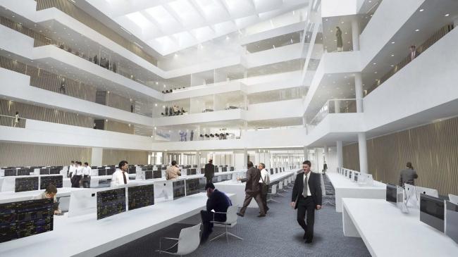 Здание банка Nordea в районе Эрестад в Копенгагене © Henning Larsen Architects