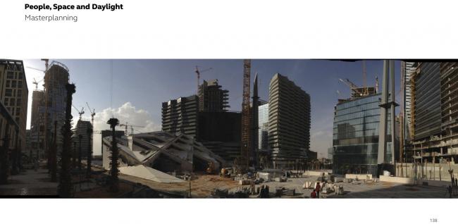 Финансовый район короля Абдуллы в Эр-Рияде © Henning Larsen Architects