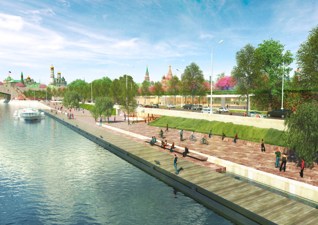 Концепция развития территорий у Москвы-реки