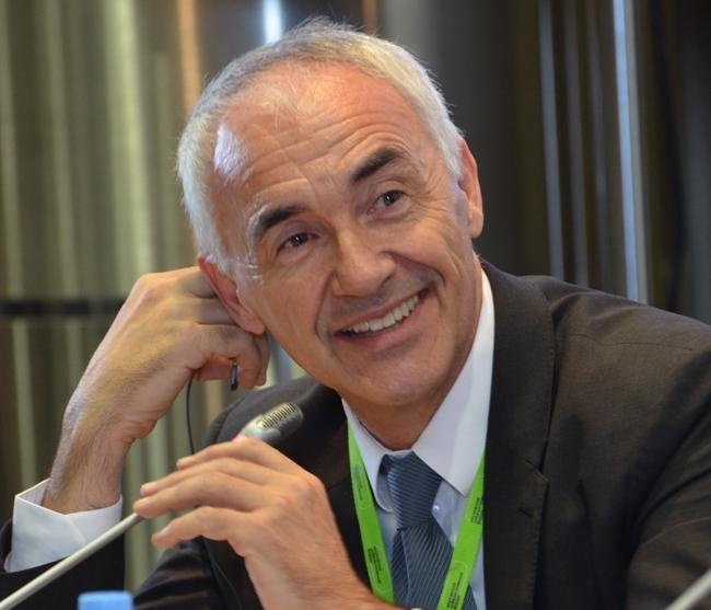 Alfonso Vegara, Founder and President of Fundacion Metropoli, member of the judging panel / Moscow Urban Forum, 2014