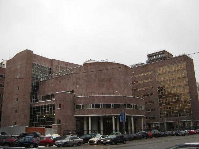 Здание Росстата © Акутагава, ru.wikipedia.org, 2014