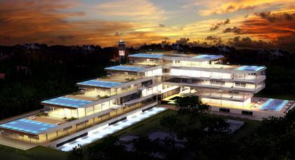 Жилой комплекс Edificio Acqua. Проект