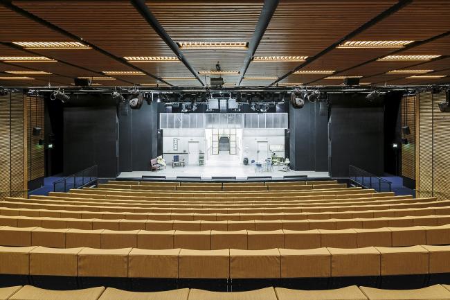 Городской театр Куопио – реконструкция © Tuomas Uusheimo
