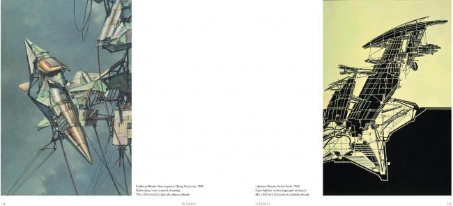 Журнал FUTURA. Публикация рисунков Леббеуса Вудса. Изображение предоставлено FUTURA Architects