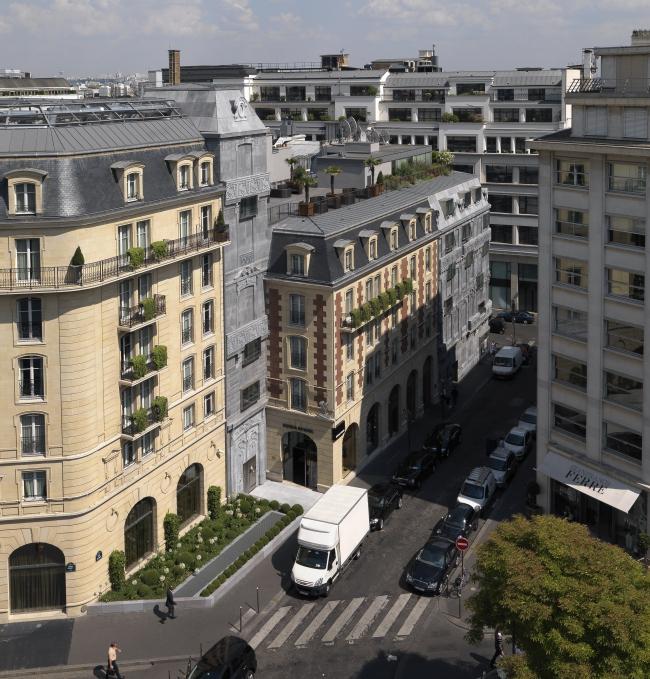 Отель Barrière Le Fouquet′s © Edouard François