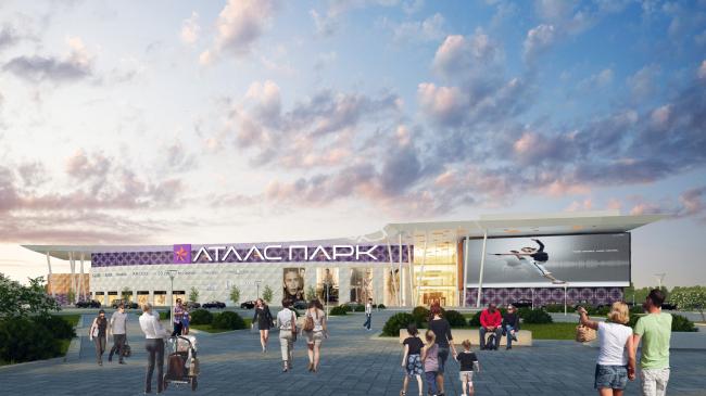 Торгово-развлекательный центр «Атласпарк» в Жуковском © UNK project