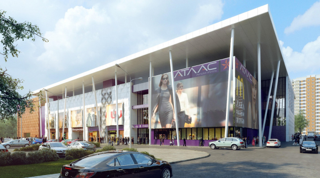 Торговый центр «Атлас» © UNK project