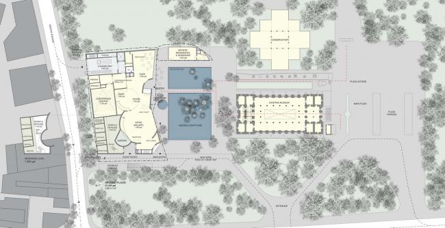 Музей города Мумбаи им. Бхау Даджи Лада – Северное крыло. Предоставлено Steven Holl Architects