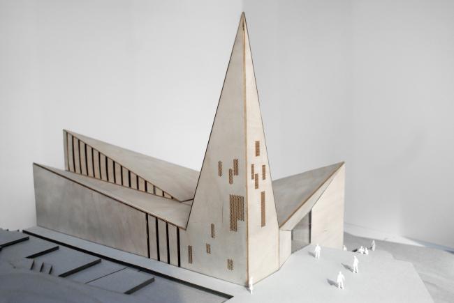Общинная церковь в Кнарвике © RRA
