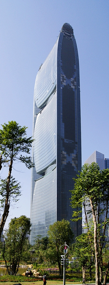 Башня Pearl River Tower. Фото: Bradwilkins. Лицензия Creative Commons Attribution-Share Alike 3.0 Unported