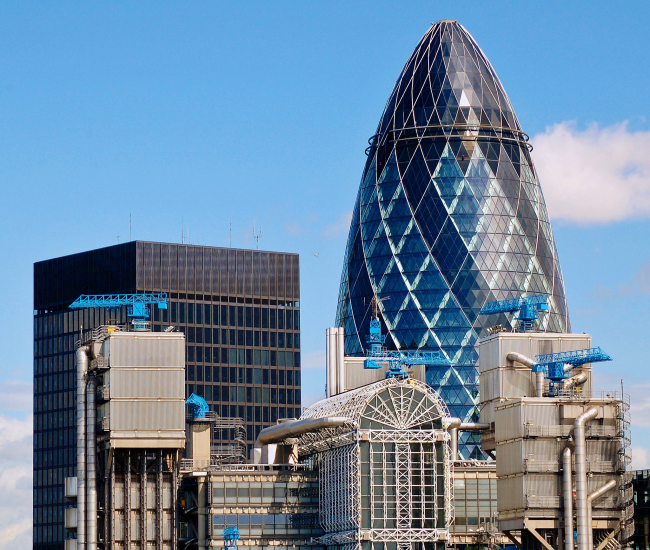 Башня 30 St Mary Axe