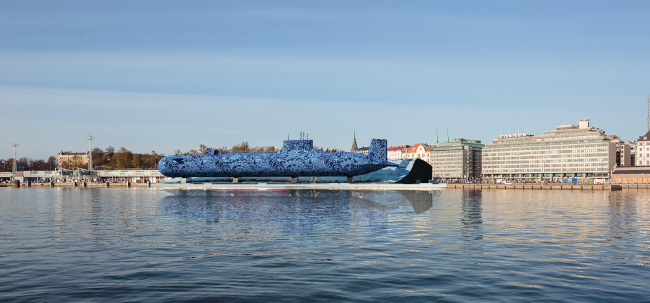 "Guggenheim Museum in Helsinki. Contest project © ""Fourth Dimension"""