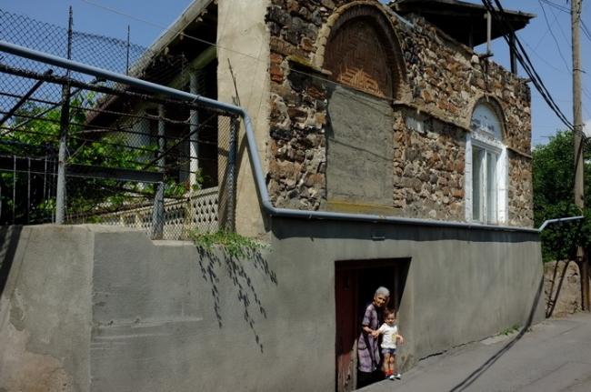 Старый Норк. Дом с большим подвалом - дом Геворга Саркисяна © Андрей Иванов