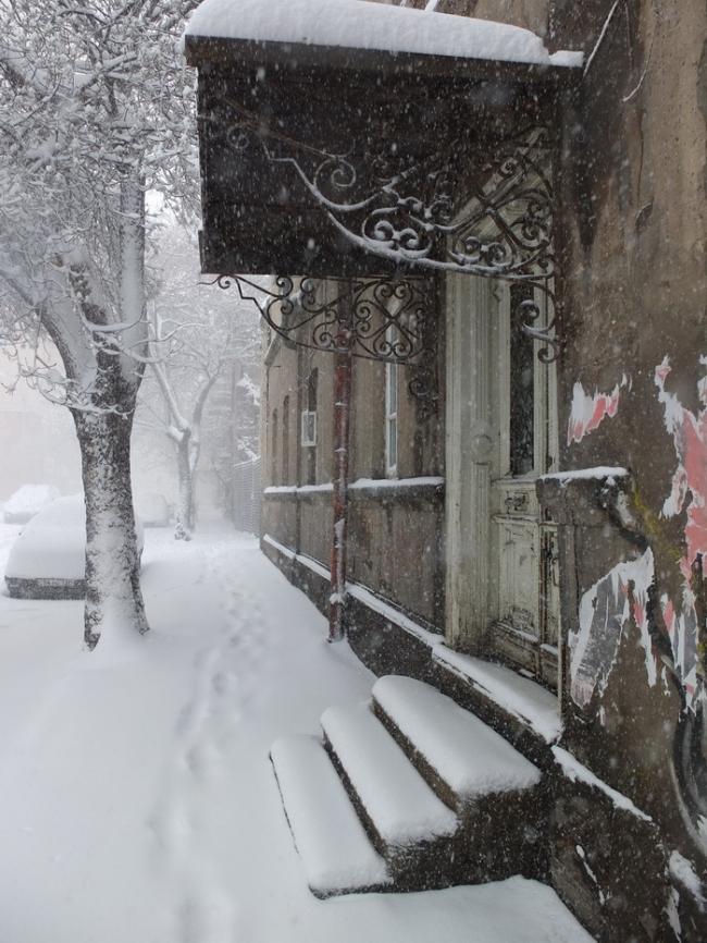 Ул. Пушкина в снегу © Андрей Иванов