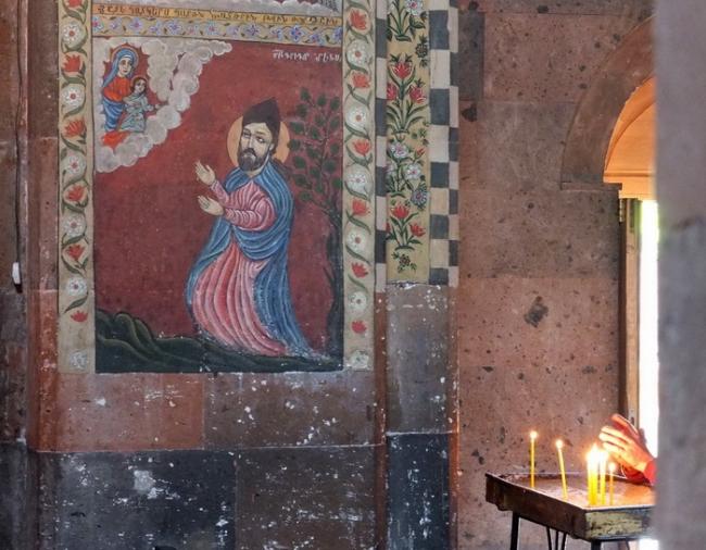 Канакер. Церковь Св.Акопа. Руки © Андрей Иванов