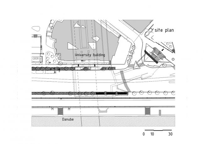 Станция метро «Сент-Геллерт тер» © spora architects