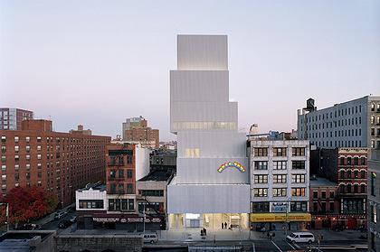 Новый музей современного искусства в Нью-Йорке. 2007