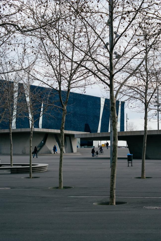 Здание Форума в Барселоне (2004). Фото: Ruben Garcia via flickr. com. Лицензия Creative Commons