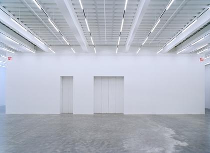 Новый музей современного искусства. Выставочный зал